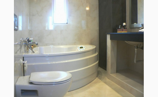 komfortables Bad, comfortable bathroom